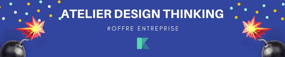 offre entreprise pour design thinking