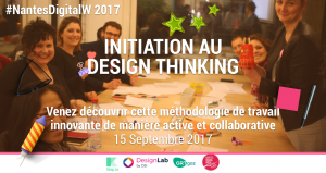 KLAP et le Design Lab GRTgaz vous donne RDV à la Nantes Digital Week 2017