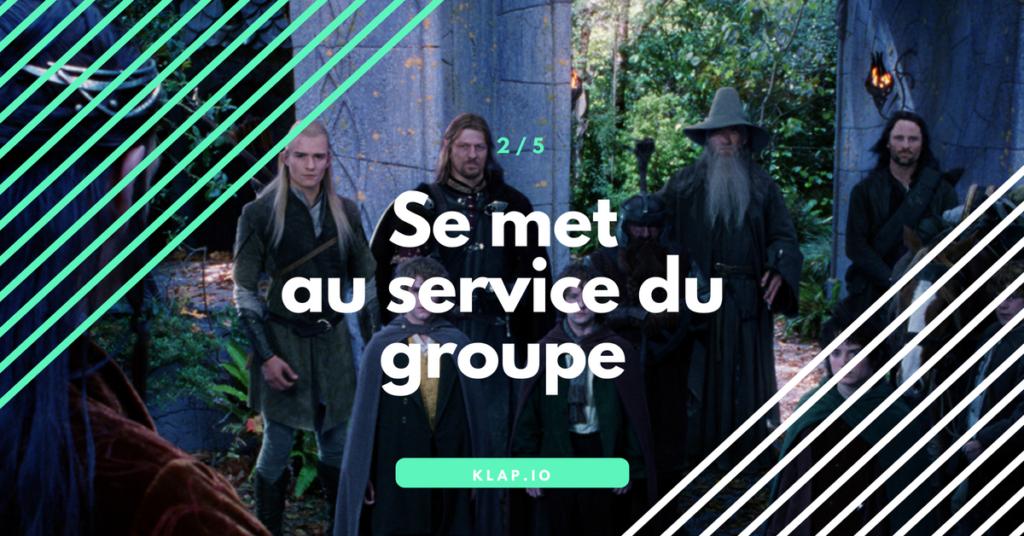 KLAP _ Se met au service du groupe