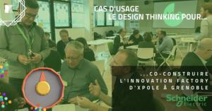 Aménagement de bureau avec le Design Thinking : le cas Schneider Electric