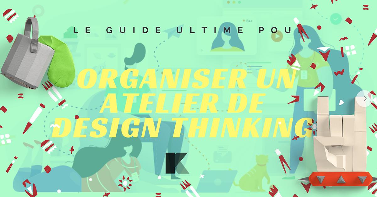 organiser un atelier de design thinking