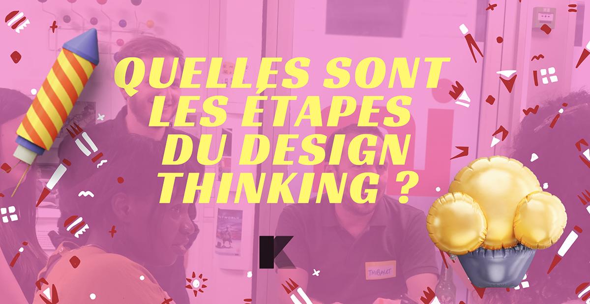 étapes design thinking